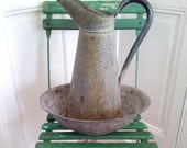 RESERVED Zinc Water Pitcher