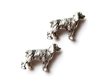 Dog Cufflinks - Gifts for Men - Anniversary Gift - Handmade - Gift Box Included
