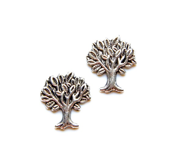 Tree Cufflinks - Gifts for Men - Anniversary Gift - Handmade - Gift Box Included