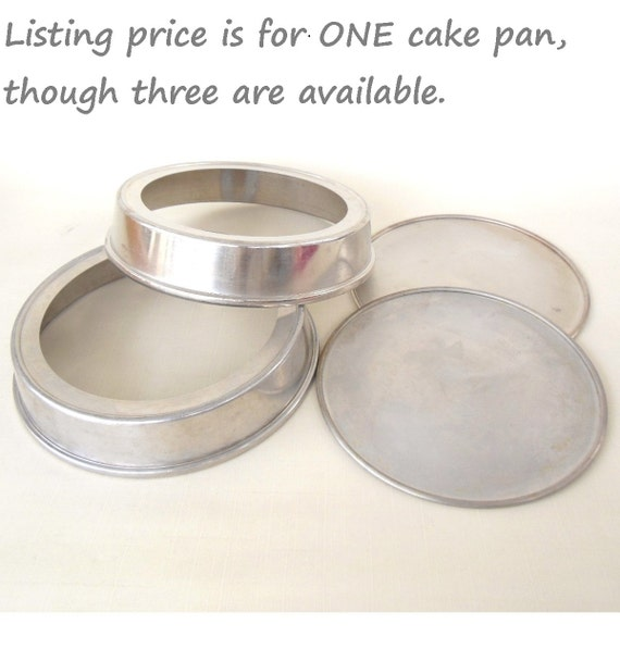 Mirro Removable Bottom Cake Pans Round Layer By