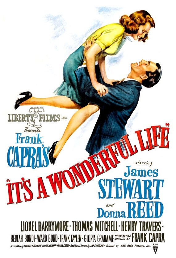 It 39 S A Wonderful Life Home Theater Decor Movie Poster