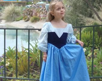 Ariel Costume Dress, Blue Kiss the Girl
