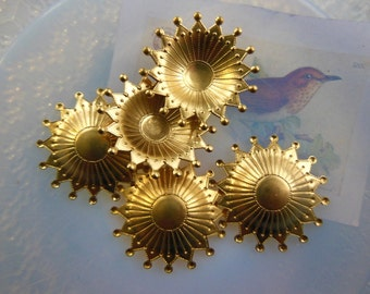 Jewel Crown Charm  (2 pc)