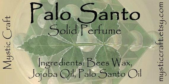 Palo Santo Solid Perfume Travel Stick