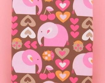 LOVELY ELEPHANT organic cotton elastane single jersey