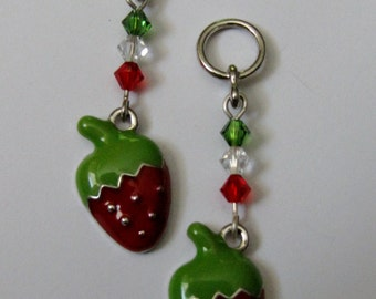 Berry Charming - Charms or Earrings