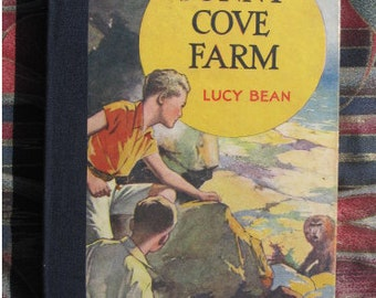 Sunny Cove Farm children's adventure book recycled as notebook