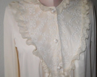 Gossard Artemis Nylon Robe Size Small dressing gown Housecoat