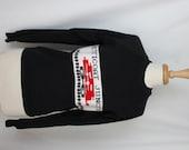 SALE - Vintage Black Petticoat Junction Sweatshirt - Size Medium