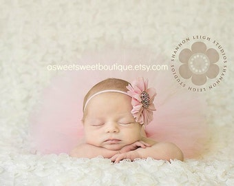 Baby Pink Tutus Newborn Tutu Baby Girl Tutu Pink Tutus Pink Tutu And Headband Newborn Photo Prop Baby Girl Photo Prop Baby Tutu And Headband