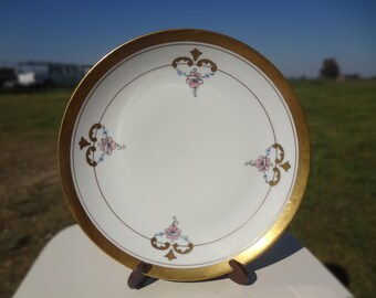 Vintage Pickard China Decorated Art Deco Plate