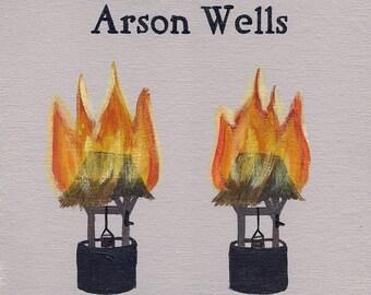 Arson Wells // Orson wells pun art print