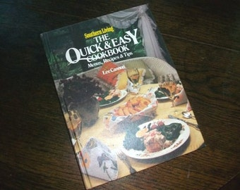 Vintage Cookbook Southern Living's The Quick and Easy Cookbook HC
