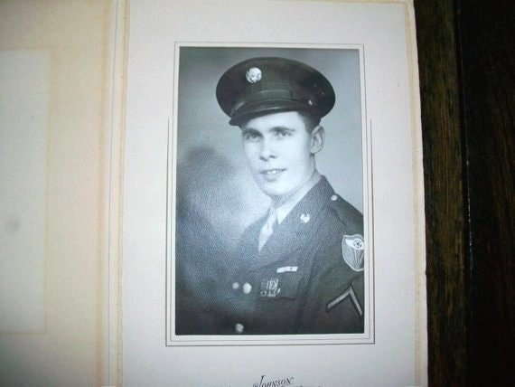 1940s Photograph Soldier Boy WWII