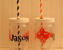 Dirt Bikes And More.jar Mason Jar Dirt Bike