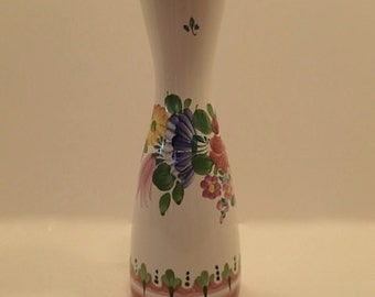 Price reduced 9.00--Gmundner Keramik Farm Flowers Vase
