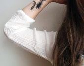 Temporary Tattoo Feathers and Rabbit (Includes 2 Tattoos) - BurrowingHome
