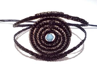 From Europe's heart-Bracelet black HORSE HAIR-natural elegance