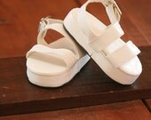 American Girl Doll White Mary Jane Sandals
