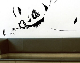 Marilyn Monroe - uBer Decals Wall Decal Vinyl Decor Art Sticker Removable Mural Modern A158