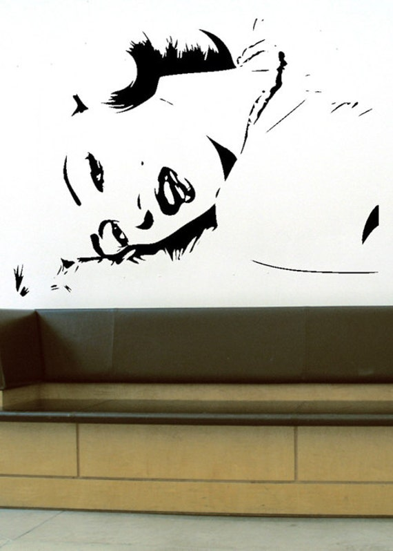 Marilyn Monroe Uber Decals Wall Decal Vinyl Decor Art