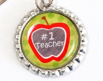 Teacher Bookmark, Teachers, Apple for teacher, bookmark, book mark, Shepherd Hook, gift for teacher, teacher (2496)