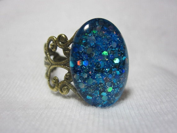 The Sparkling Fish Eyes Ring, Easter, Beach