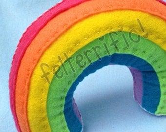 Rainbow Tooth Fairy Pillow