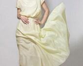 Silk and Cotton-blend Maxi Dress