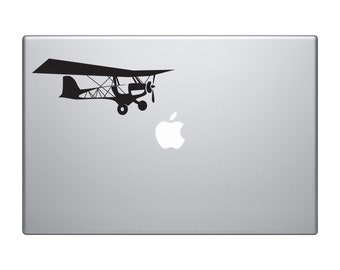Origins of Flight Aeroplane Macbook and Car Decal
