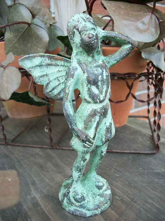 Cast Iron Garden Fairy By RoadsideTrunkShow On Etsy