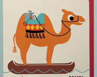 Canoeing Camel Card