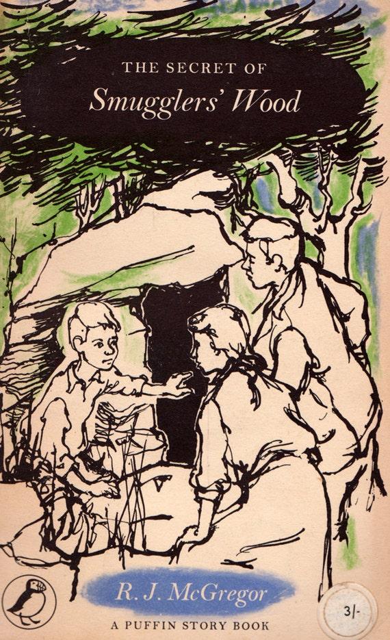 The Secret of Smuggler's Wood by R.J. McGregor, illustrated by Elizabeth Andrewes
