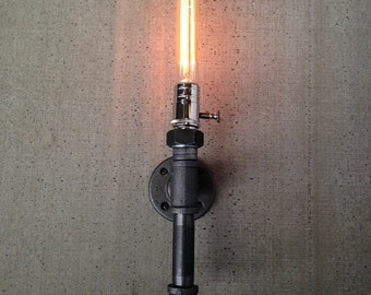 Edison Sconce Lamp - Wall Light - Industrial Style - Pipe Fixture