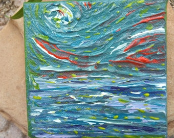 Dream Crossing Abstract Original Painting