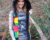d0224d5e8f28 Psytrance clothing and accessories  Cheshire Cat Scoodie Patchwork ...