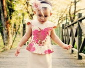 NOVA Top & Dress PDF Pattern by Popolok Design - 8 Sizes Girl Age 1 to 8