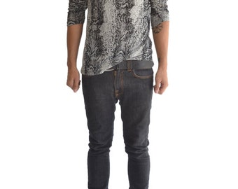 Snake Skin Long Sleeve Shirt