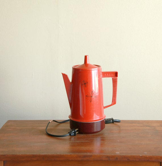 Vintage Regal PolyPerk Coffee Maker Automatic Percolator