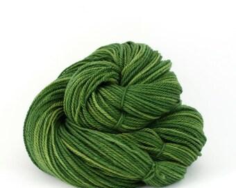 Orion - Hand Dyed Superwash Merino Wool Sport Yarn - Colorway: Moss