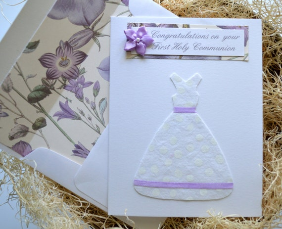 First Holy Communion Card/ Confirmation Card / Wording can be changed