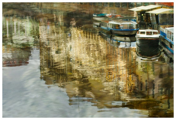 Large artwork, city art photography, boats print, water art, Living room, St Petersburg large poster, mens gift, 12x18, 16x24, 20x30, 24x36