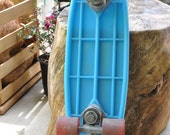 Retro Aqua color Spoiler ll skateboard by Grentec circa 1970's