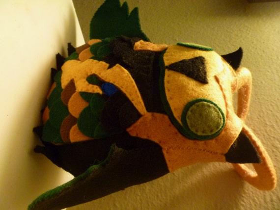 Avengers Loki Inspired Owl Plush