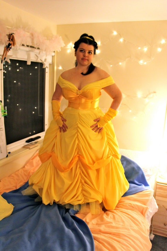 Items similar to Princess Belle Ball Gown Beauty and the Beast ...