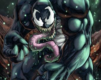 We Are Venom Colored Print