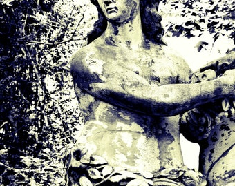 "Photograph ""Garden Woman Statue - 2""- 8x10, Print Only"