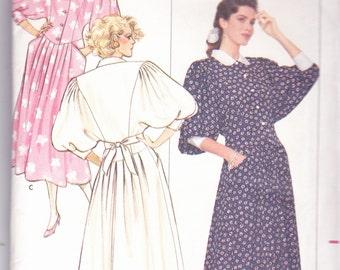 Butterick 5996 Vintage Pattern Womens Mid-Calf  Dress Size 8