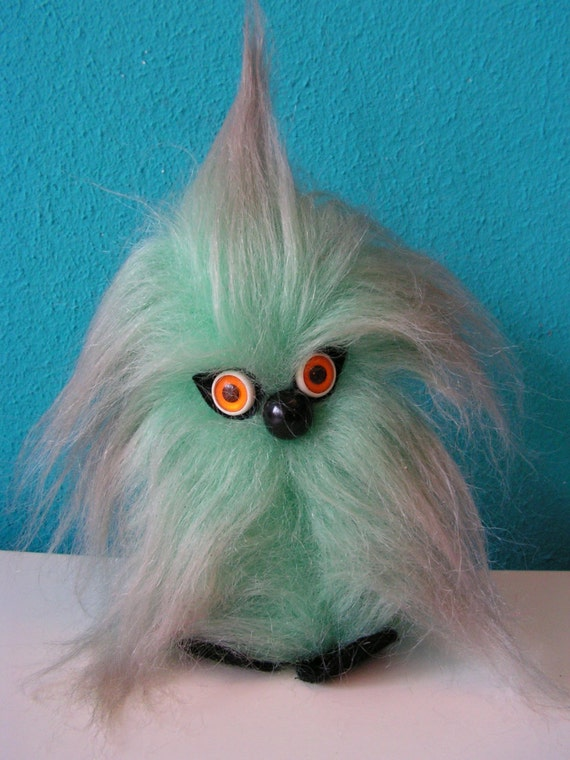 Vintage 1970s Shaggy Hairy Fluffy Plush Cuddly By