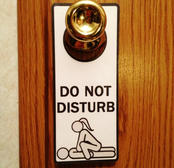 Adults Only Do Not Disturb Private Door Hanger Sign By Animeitems